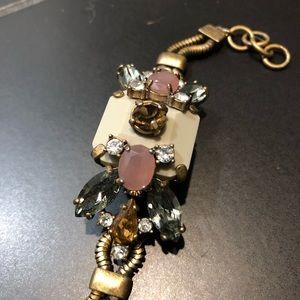 J. CREW: jeweled bracelet